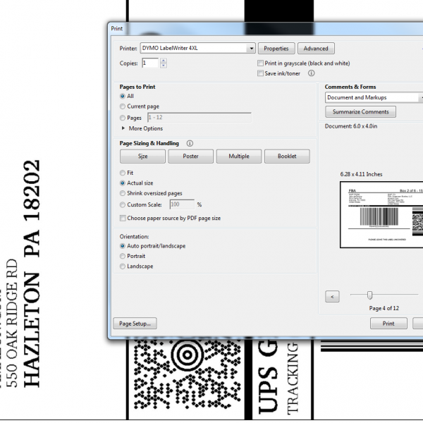 Amazon FBA Shipping Label Printer by oCustomize (PC) – Tools For FBA